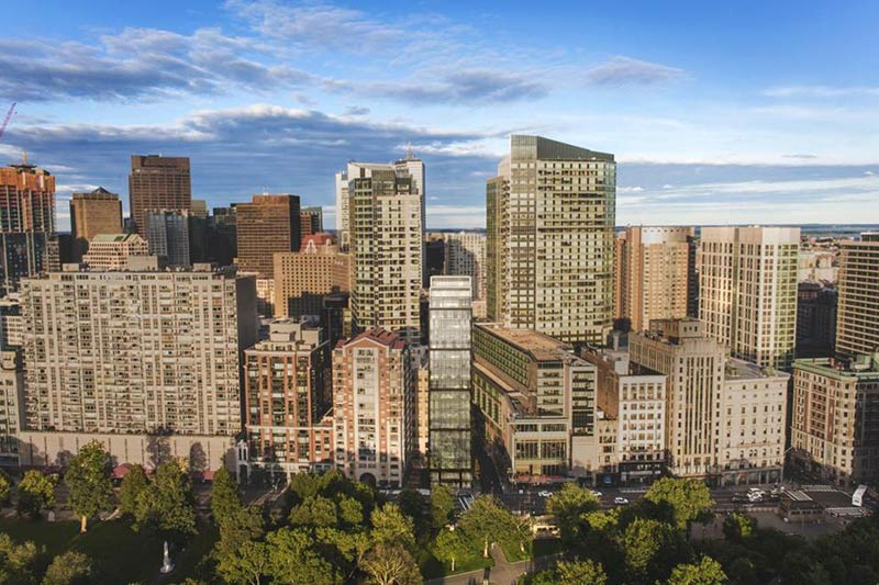 Developer scales back Boston 'skinny tower'