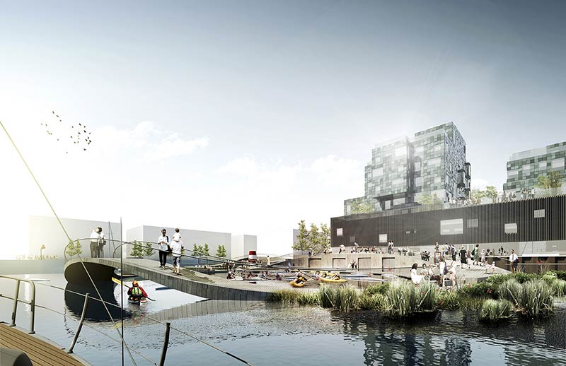 C.F. Møller Landscape wins unique water and activity project in Copenhagen
