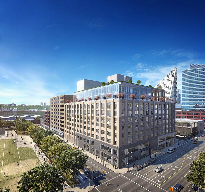 The Georgetown Company & Rafael Viñoly Announce Development Plans for Office Space at 787 11th Avenue, New York