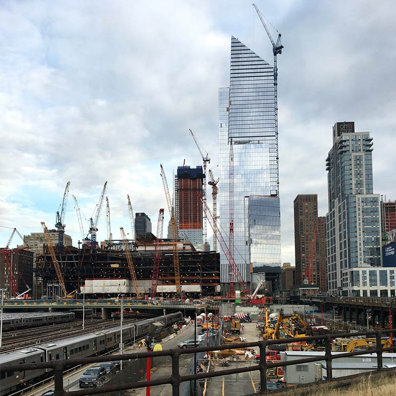 Instrumental City: The View from Hudson Yards, circa 2019