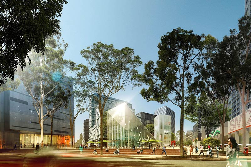 New visions for Sydney's Green Square Plaza