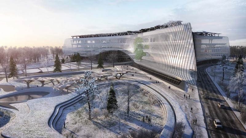 Zaha Hadid Architects wins competition to build Sberbank Technopark, Moscow
