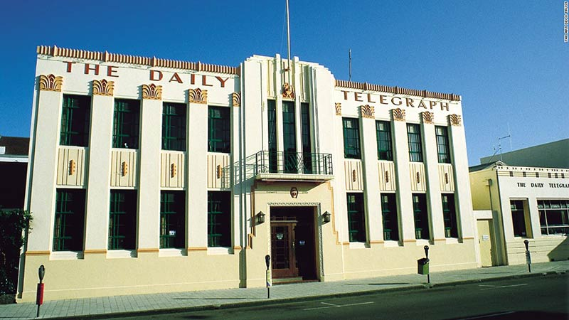 The Daily Telegraph Building, Napier, New Zealand