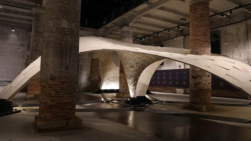 Making the Armadillo Vault at Venice Architecture Biennale 2016
