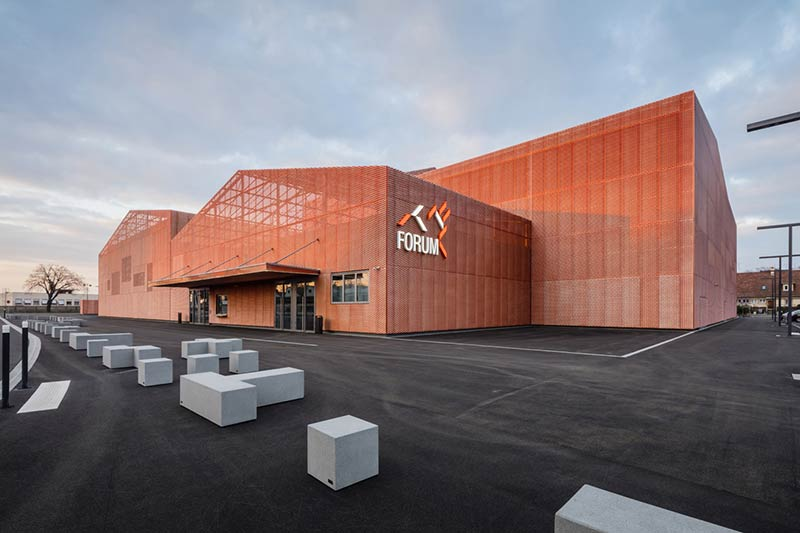 Forum of Saint-Louis / Manuelle Gautrand Architecture