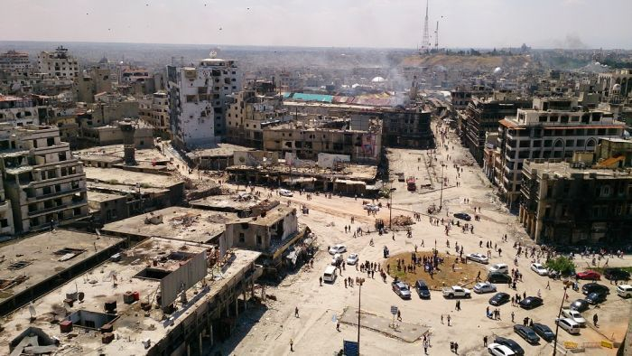 What role is there for architecture in a city destroyed by war?