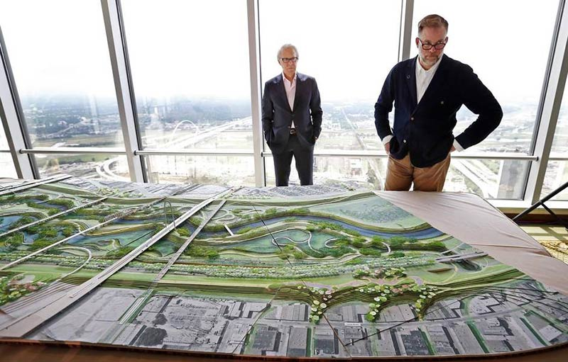 Dallas finally gets a serious plan for a park between Trinity River levees