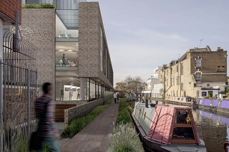 Studio RHE submits planning for mixed-use hub in Notting Hill, London