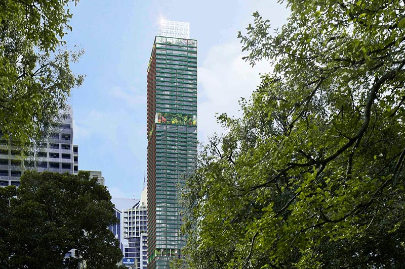 Jean Nouvel's first Melbourne tower unveiled