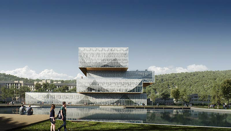 SHLA to design the Sino-US cooperation Wenzhou-Kean University Student Centre & Library, China