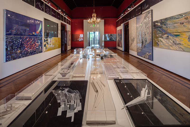 Zaha Hadid exhibition at the Palazzo Franchetti