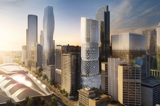Zaha Hadid's Melbourne tower gets clear path through council