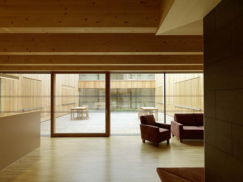 Andritz Residential Care Home / Dietger Wissounig Architekten