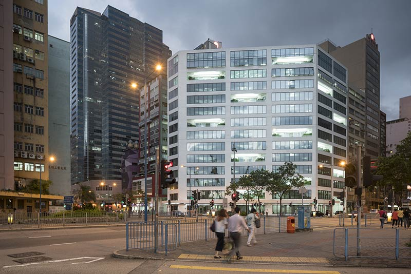MVRDV transform Hong Kong factory into Glass Office