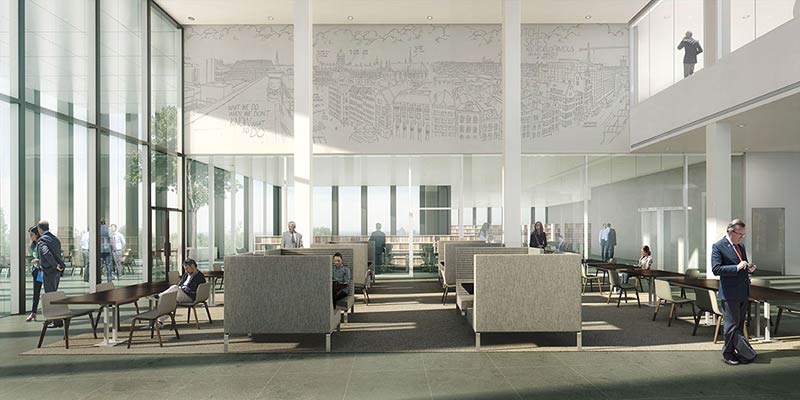 KAAN Architecten has won the commission to design the New Amsterdam Courthouse