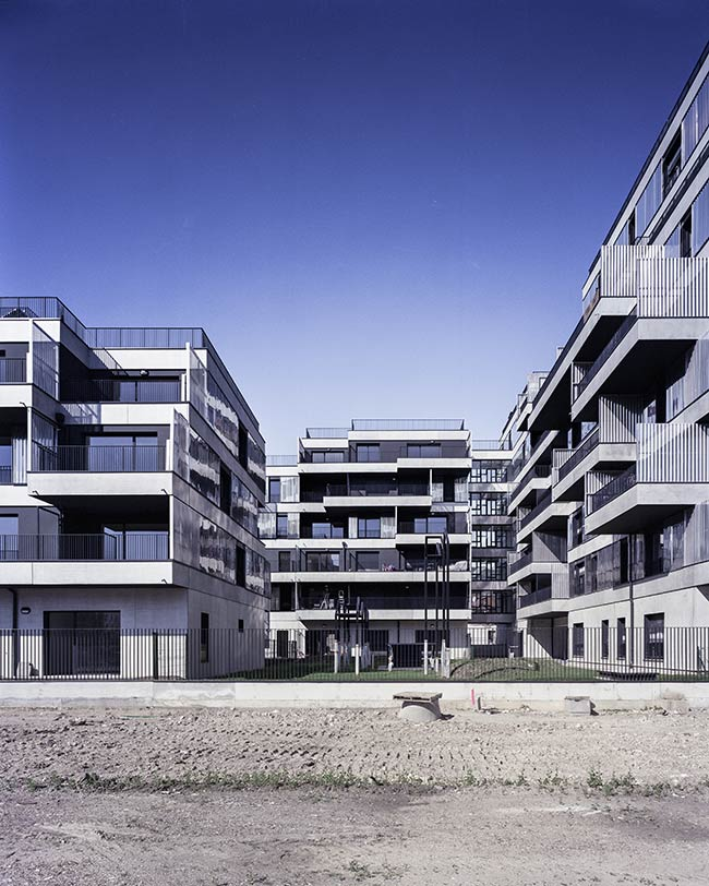 Housing In Gennevilliers Christophe Rousselle Architects