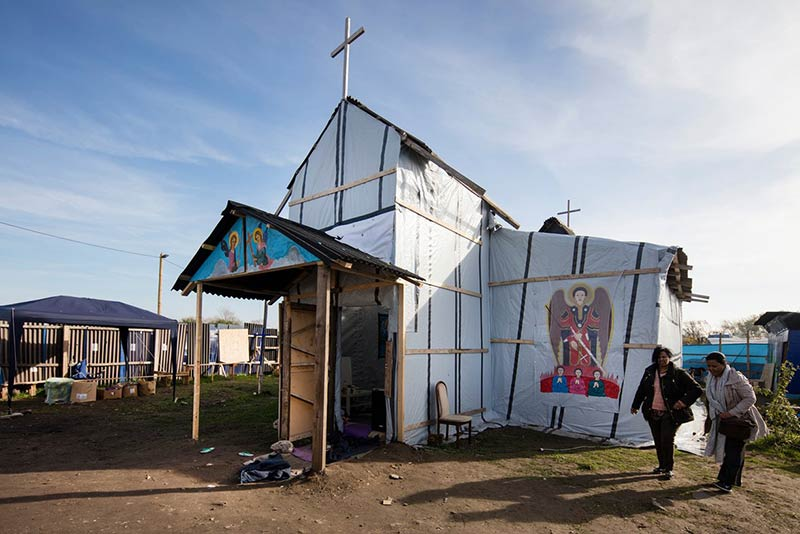 We built this city: how the refugees of Calais became the camp's architects