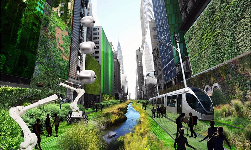 Terreform One's vision of New York as a smart city