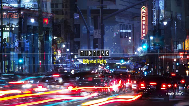 Hollywood Nights Time-Lapse