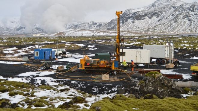 Icelandic Experiment 'turns waste CO2 to stone'