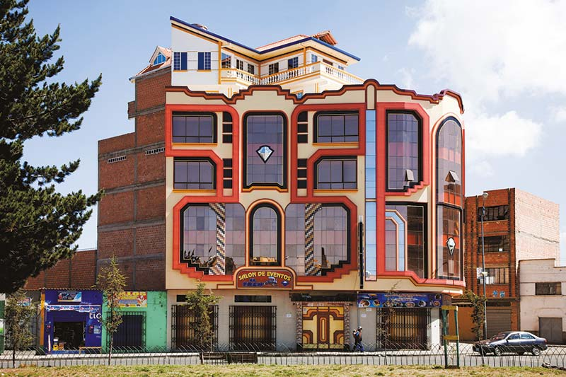 Building Bolivian Identity with Psychedelic Architecture