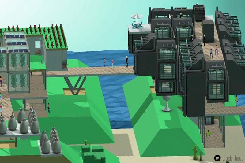 Building better architecture through video games like Block'hood