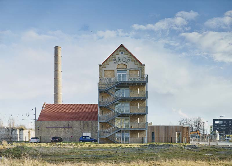 Rehabilitation and Extension of the old mill Rigot - Stalars Dunkirk / Coldefy & Associés Architectes Urbanistes