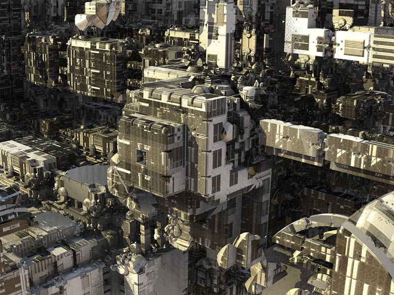 The architect of these monstrous, Alien Cities is an Algorithm