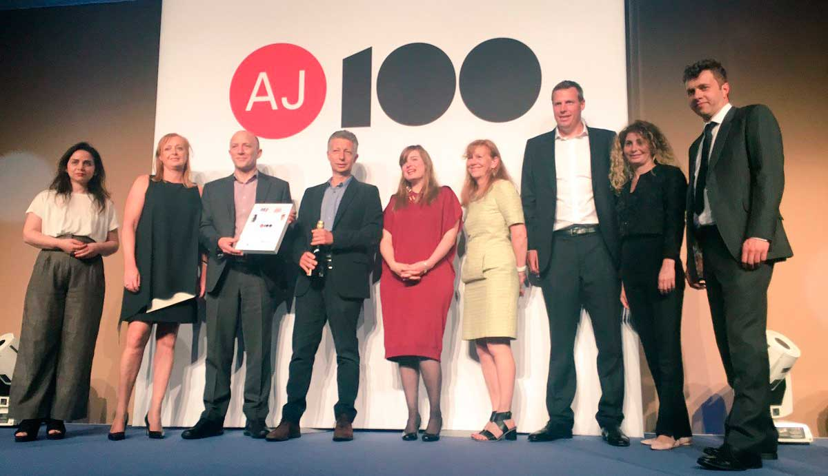 Foster + Partners wins AJ100 Clients' Choice Award