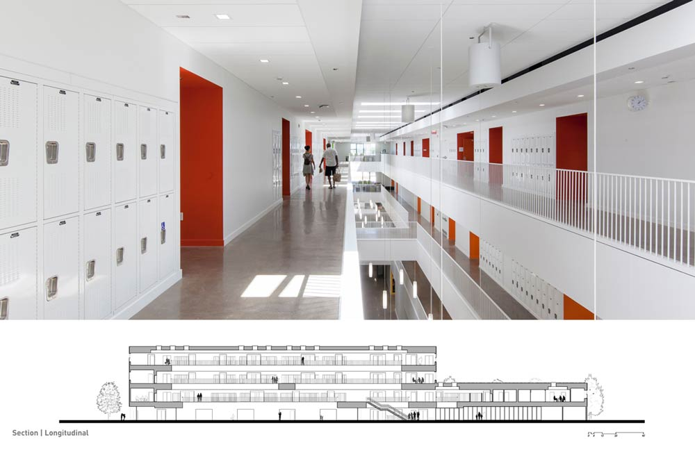 Lycee Francais de Chicago / STL Architects
