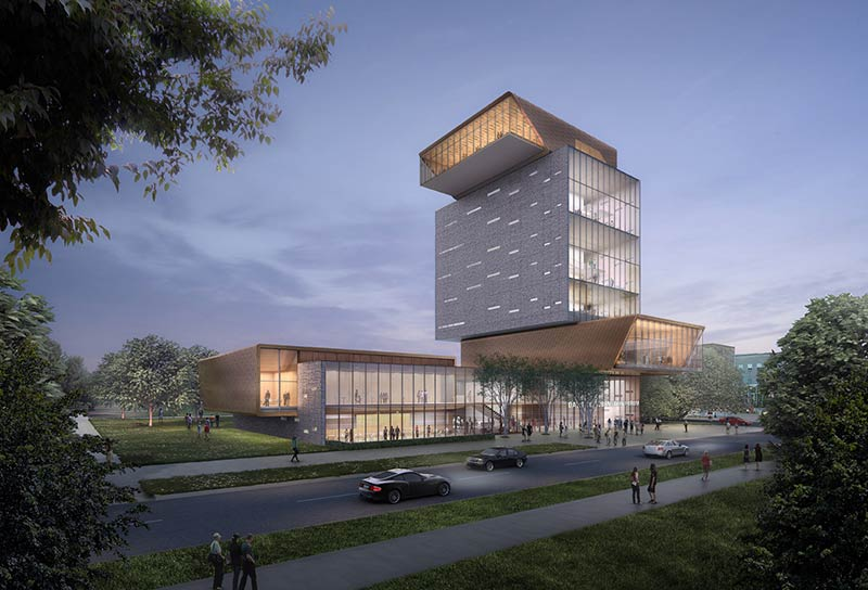 Design unveiled for the new Chicago Rubenstein Forum