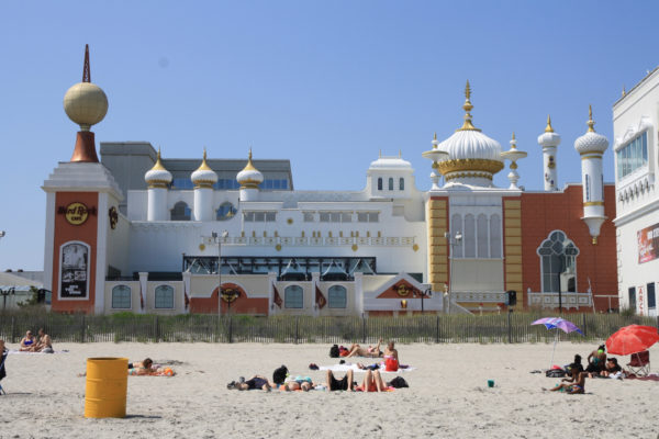 The Trump Taj Mahal, Atlantic City, NJ