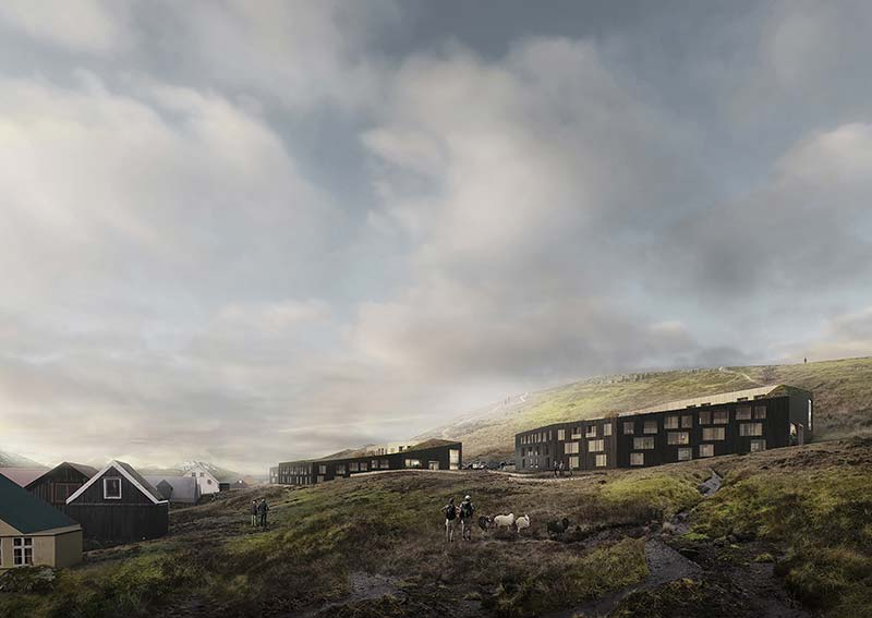 """White Arkitekter wins Nordic Built Cities with Faroese project 'The Eyes of Runavik"""""""