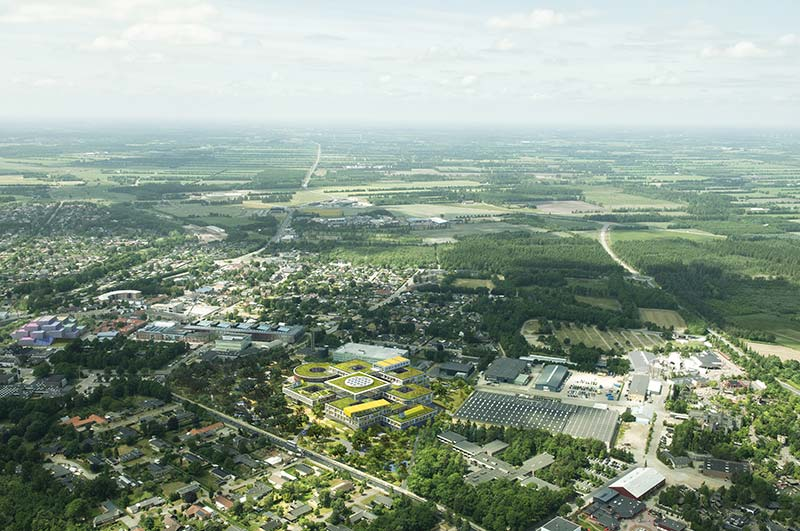 The Lego Group shares C.F. Møller designed plans for office complex in Billund, Denmark