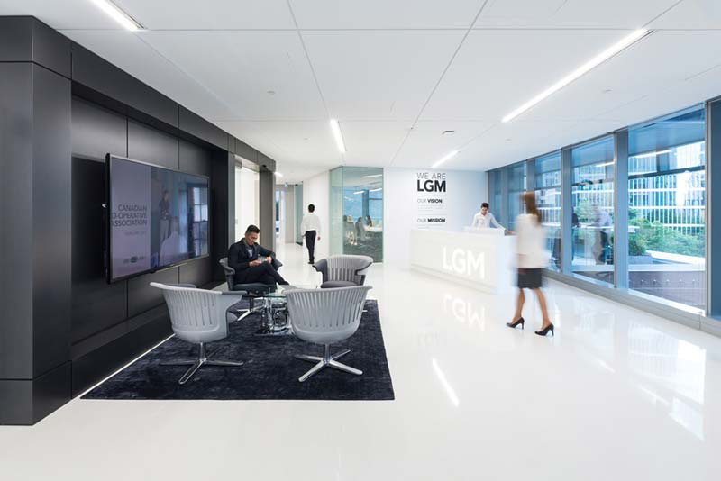 DIALOG awarded 'Best Tenant Improvement' for LGM's Vancouver Head Office