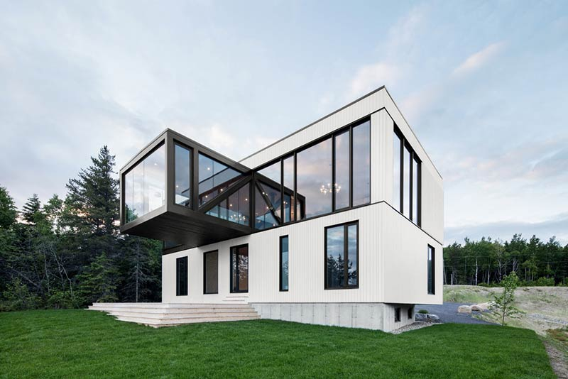"The ""Blanche"" Chalet / ACDF Architecture"