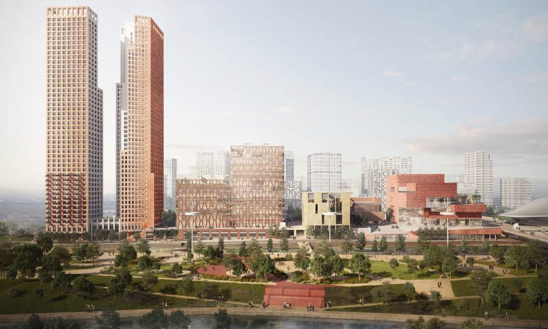 Latest vision revealed for Olympicopolis arts quarter in east London