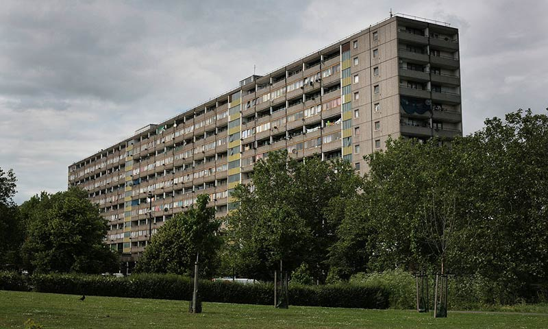 The fall and rise of London council estate