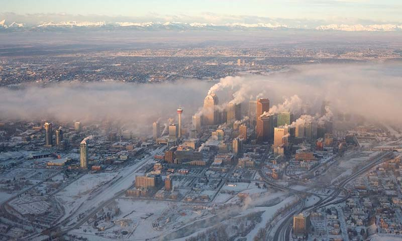The sprawling, car-centric city of Calgary, Alberta is home to much of Canada's oil and gas business