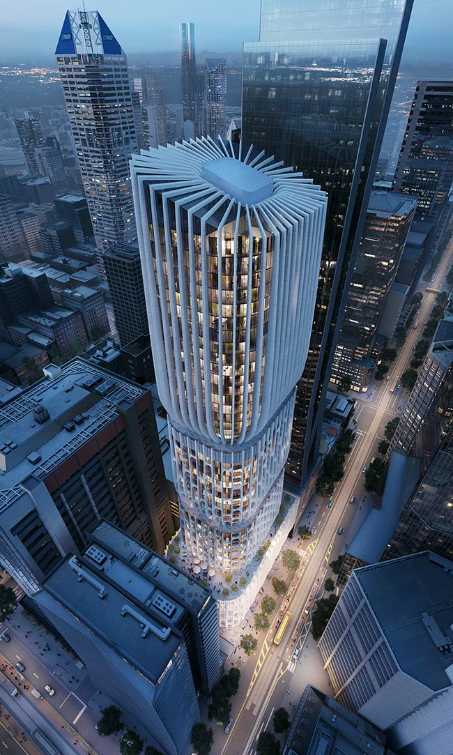 600 Collins Street by Zaha Hadid