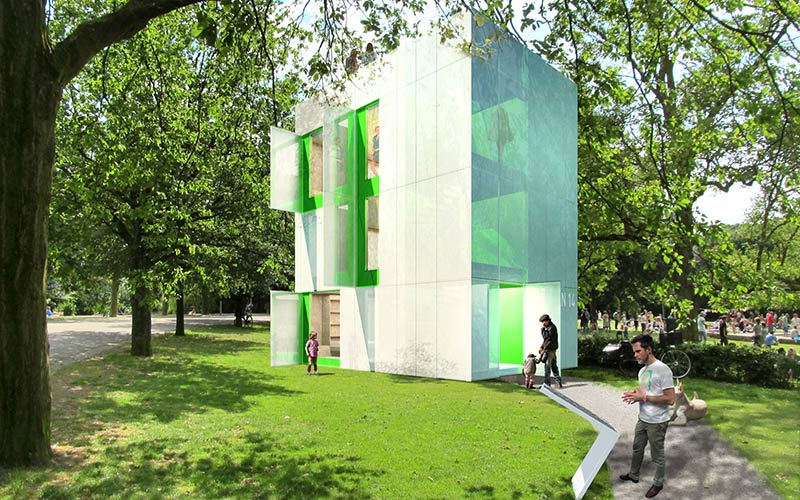 NEZZT wins competition 'Liberated living, your ideal tiny house in Almere'