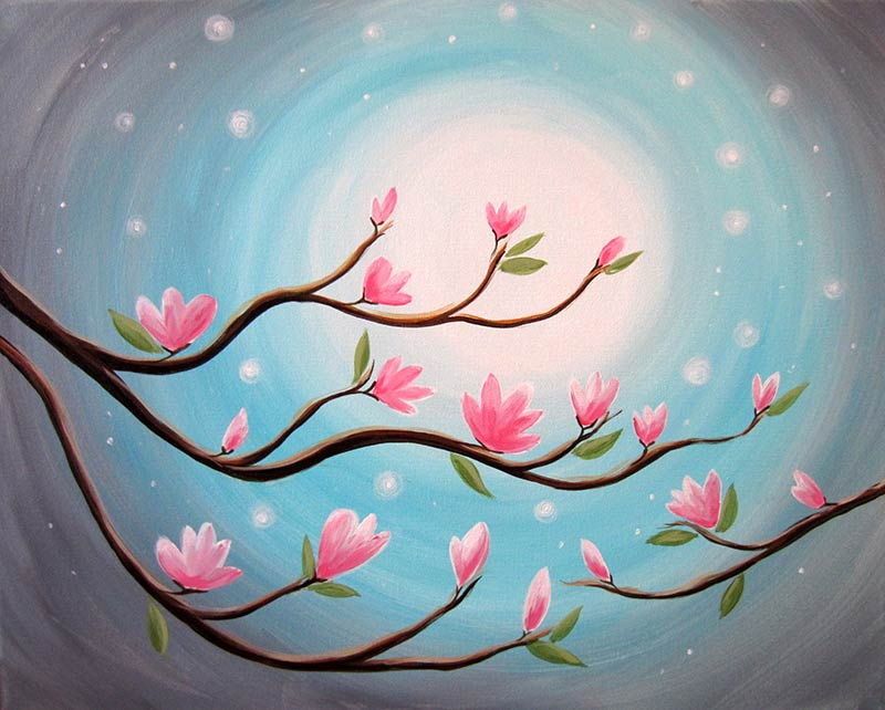 The Making of Wall Art – Painting With Acrylics – Tips and Designs