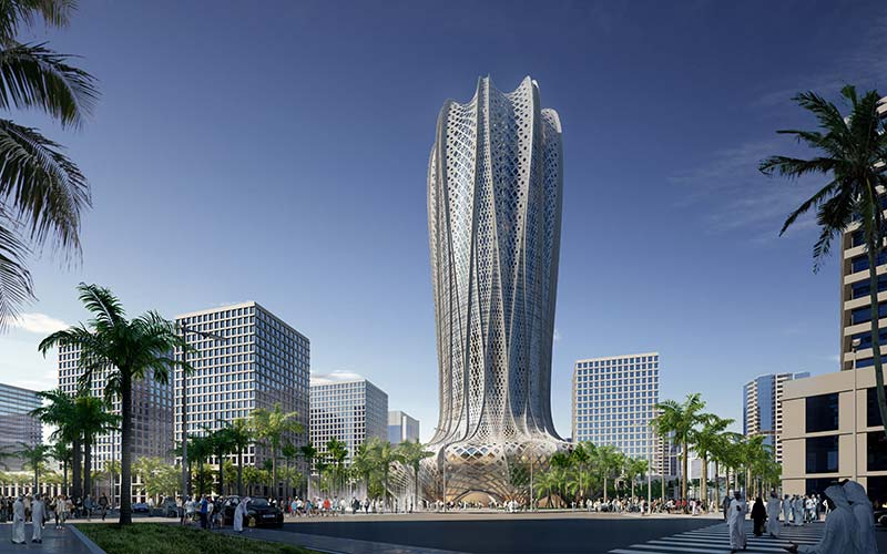 Al Alfia Holding announces projects by Zaha Hadid Architects for Lusail City, Qatar