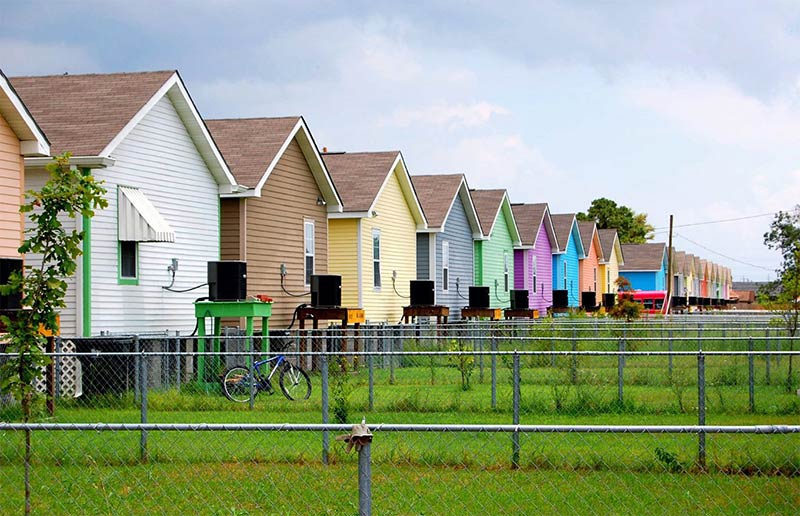 Musicians' Village, a Habitat for Humanity project in New Orleans
