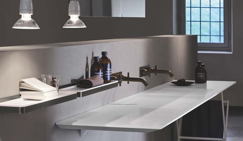 Agape: Ell sink, by Benedini Associati, Diego Cisi and Andrés Jost