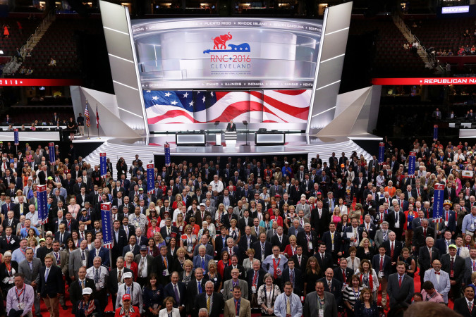 Teflon minimalism: The surprisingly sleek architecture of the GOP convention