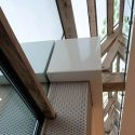 Two-Face office building, shoebox diorama / Joris Verhoeven Architectuur