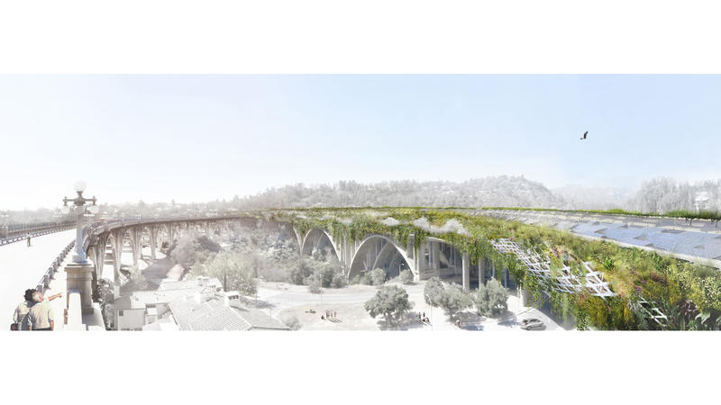How to remake the L.A. freeway for a new era? A daring proposal from architect Michael Maltzan
