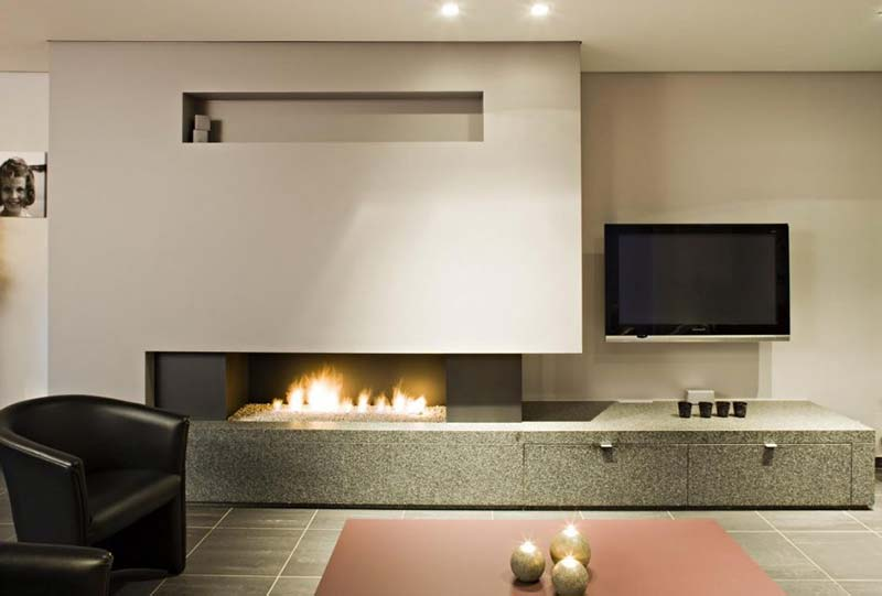 Rethink your fireplace with modern designs