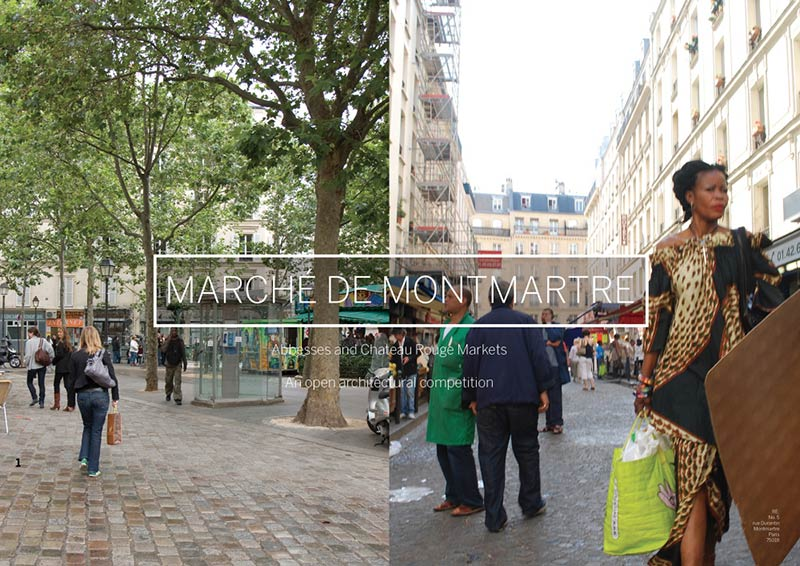 Call for Submission - Marché de Montmartre: Abbesses and Chateau Rouge Markets